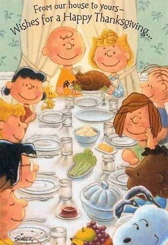 Charley Brown Thanksgiving
