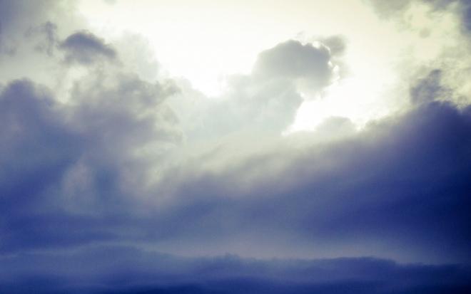 Blue storm sky 02
